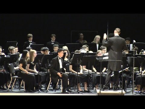 Green Hope High School Symphonic Band performs Nilesdance on 3/28/2019
