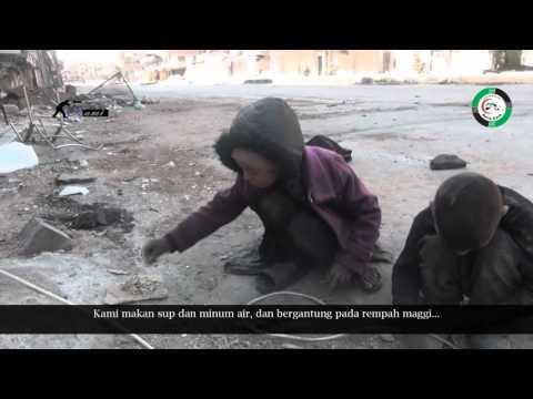 Doa anak Suriah untuk mereka yang bahagia