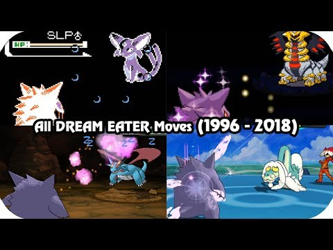 evolution of pokémon moves