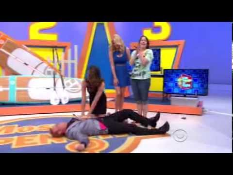 The Price is Right (1/8/14)   George Gets Mauled!