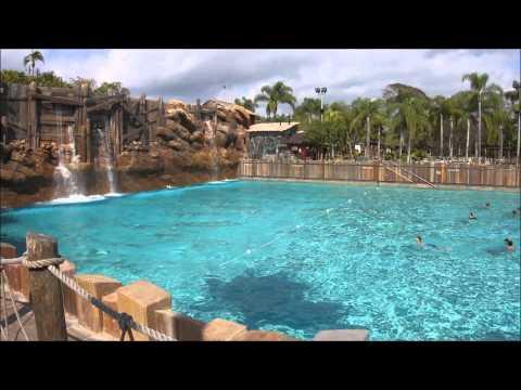 Surf Pool, Typhoon Lagoon, Walt Disney World, (HD) - The Wave