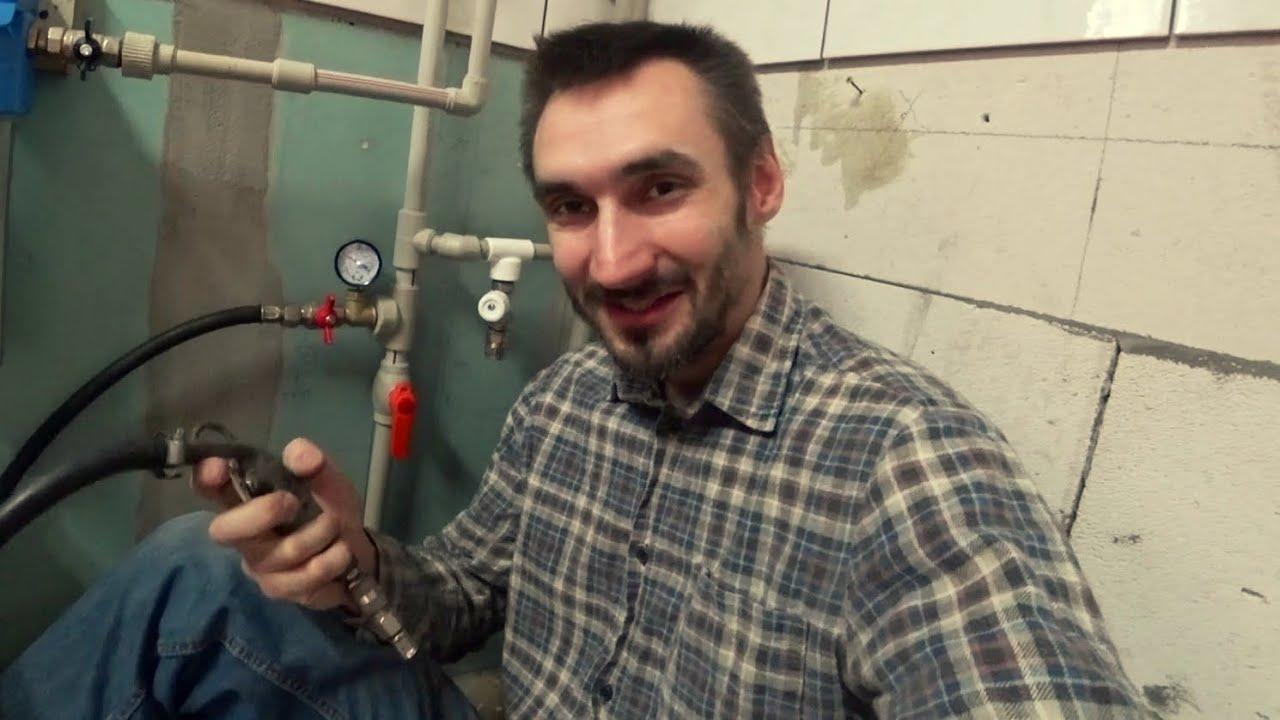 Испытание Системы Отопления на Герметичность. Реконструктор Дома