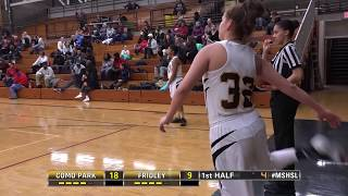 Como Park and Fridley do battle in a game with implications in Sect...