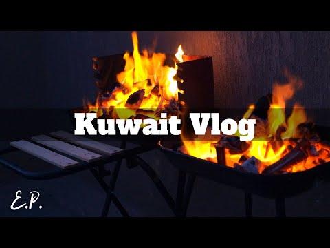 TRAVEL VLOG   Kuwait #9 Rooftop BBQ