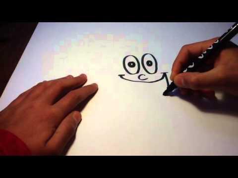 dessiner un visage cartoon heureux tutoriel dessin de bd apprendre dessiner en bd youtube. Black Bedroom Furniture Sets. Home Design Ideas