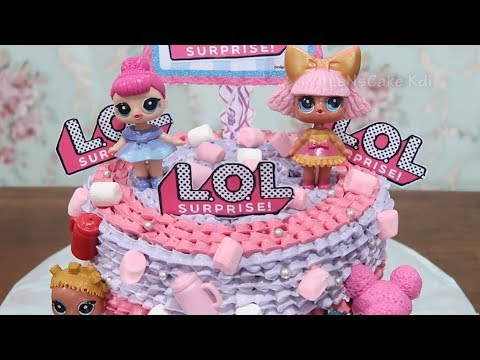 Cara Membuat Kue Ulang Tahun Lol Surprise Cake Cara