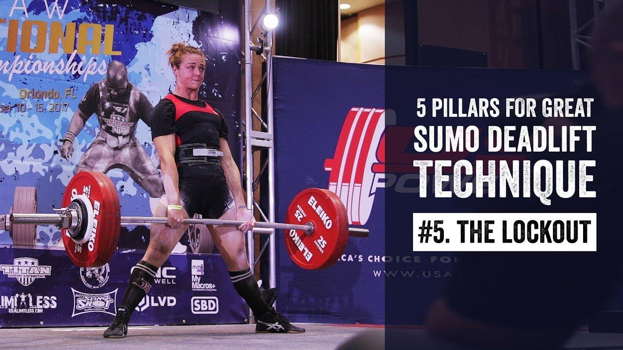 Sumo Pillar #5 | The Lockout | JTSstrength com
