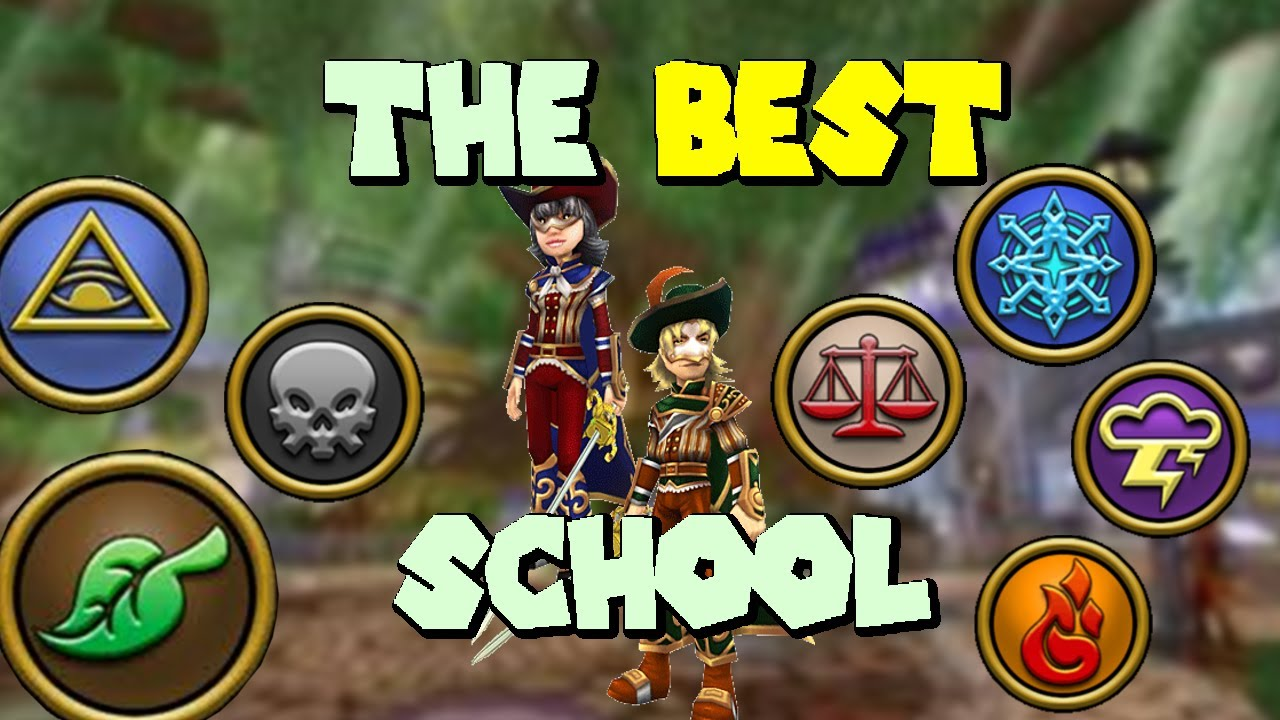 What Is The BEST School To PvP With In Wizard101?