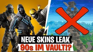 90s IM VAULT!? New Skins Leak & Kevin is coming back! | Fortnite German