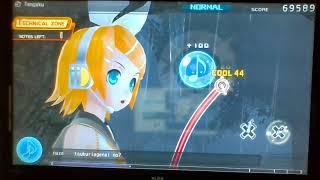 Hatsune Miku: Project DIVA F (Demo) Tengaku - Normal