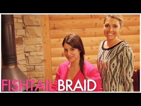 Whitney Port inspired Fishtail Braid Tutorial / with celebrity hair stylist Kylee Heath