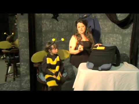 How to make a halloween bee costume youtube how to make a halloween bee costume solutioingenieria Choice Image