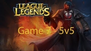 League of Legends Game 7 - 5v5 - Mafia Graves - 2/2