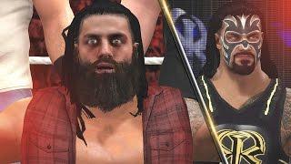 WWE 2K16 Mods - Roman Reigns Joins the Wyatt Family