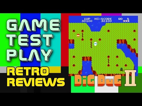 Retro Reviews - Dig Dug II
