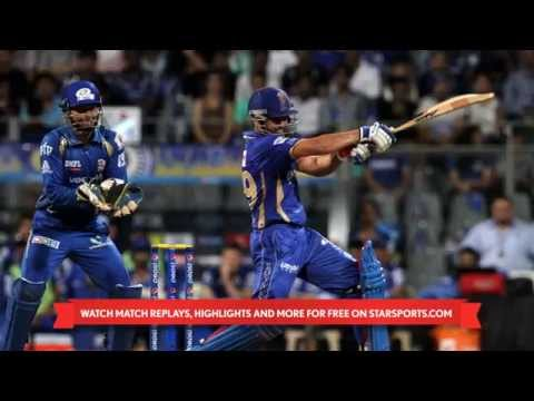 Pepsi IPL 2014: Mumbai Indians v Rajasthan Royals  Match Highlights