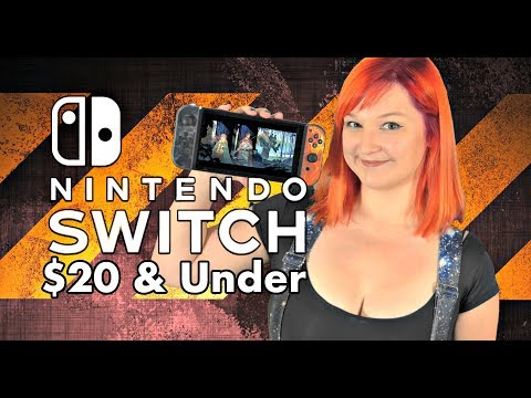 10 Awesome Nintendo SWITCH Games $20 or LESS!