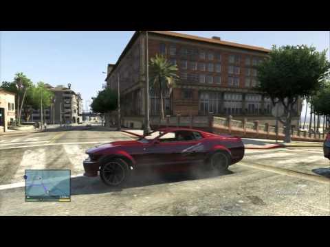 GTA 5 Online (PS4) - Смертельная гонка! #117 - YouTube