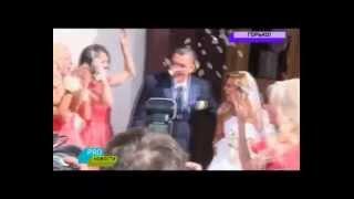 Свадьба Ксюши Бородиной - сюжет от МУЗ-ТВ
