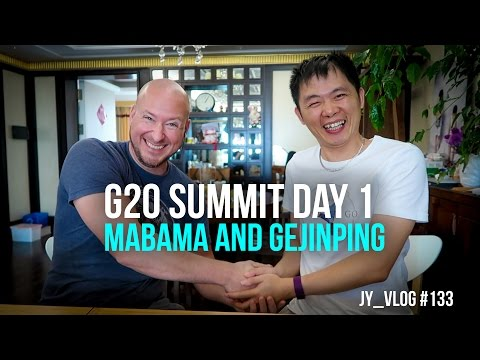 G20 SUMMIT DAY 1: Mabama and GeJinPing