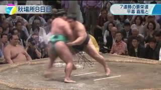 大相撲秋場所は8日目、幕内でただ1人、勝ちっ放しの大関・豪栄道は平...