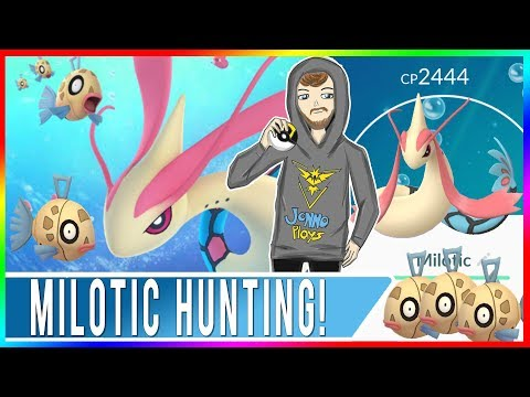 MILOTIC HUNTING IN SAN FRANCISCO! Feebas Nest Found?! How to Find Feebas in Pokemon GO!