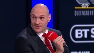 Full Tyson Fury press conference |