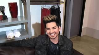 Adam Lambert Talks Divas, Yahoo