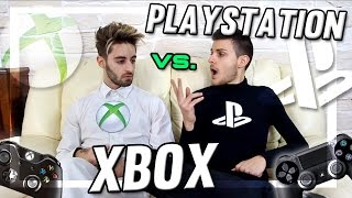 PLAYSTATION vs XBOX