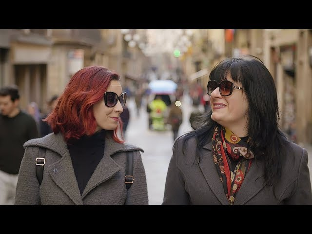 Barcelona Video Tour - Gabi & Fabia