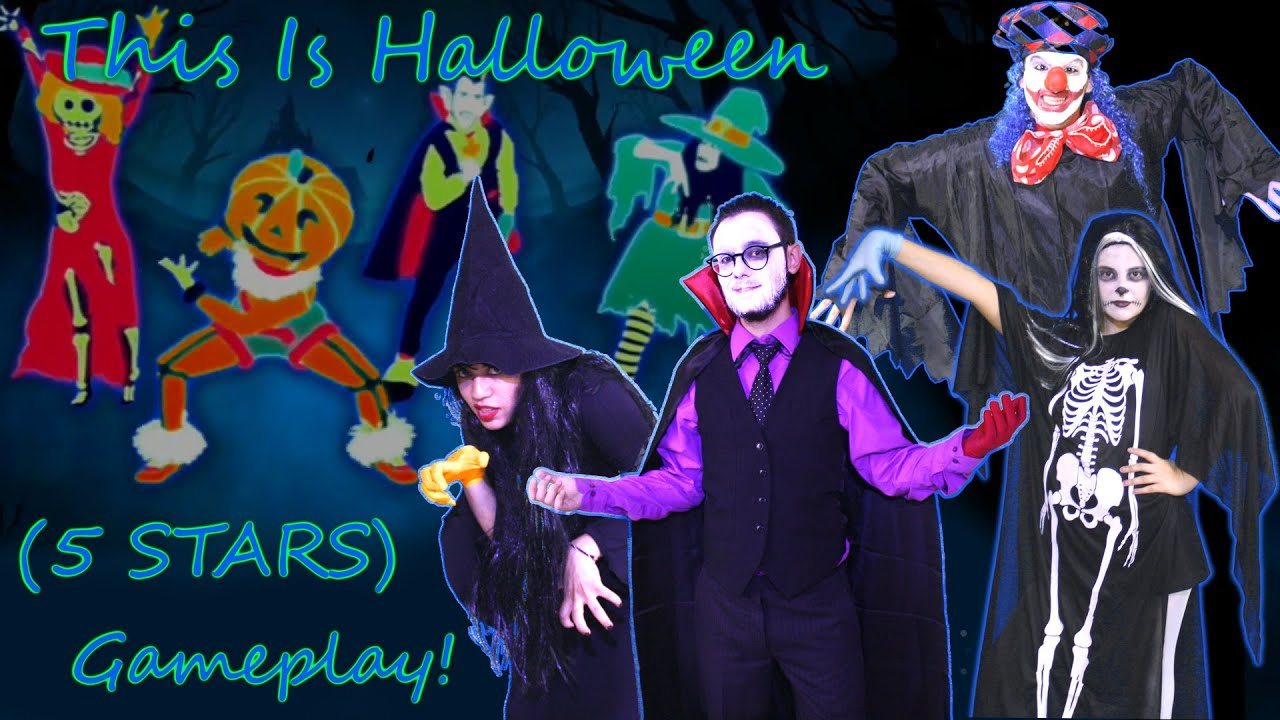 just dance 3 this is halloween 5 stars gameplay youtube - Just Dance 3 Halloween