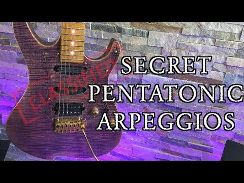 Secret Pentatonic Arpeggios ( The Box Breaker)