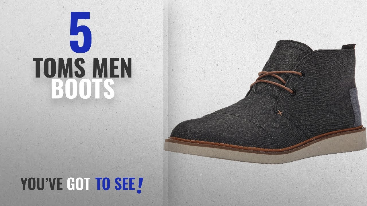3ef2ac467c4 Top 10 Toms Men Boots   Winter 2018    TOMS Men s Mateo Chukka Boots ...