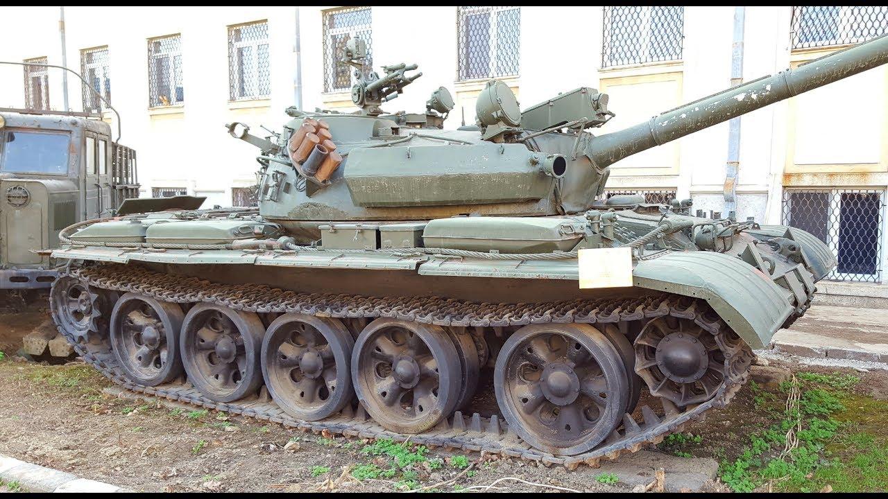 Medium Romanian Tank TR 800/T55 - YouTube