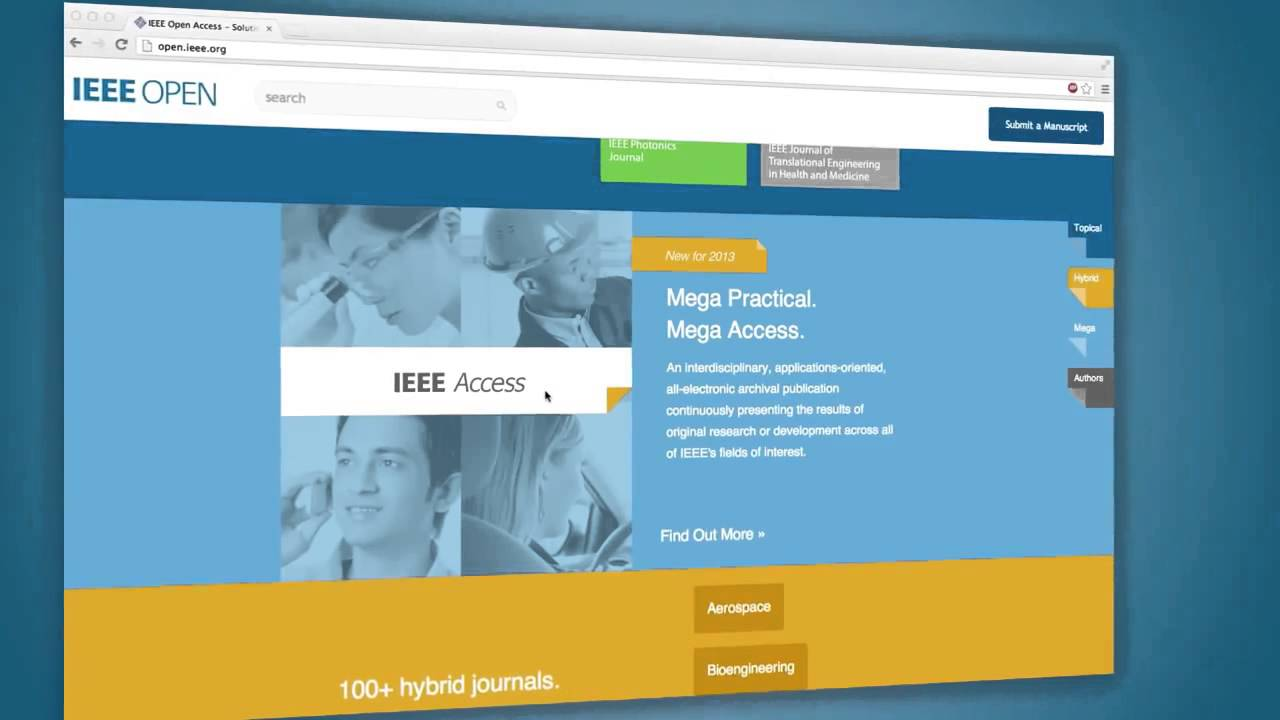 Benefits of Publishing in IEEE Access - IEEE AccessIEEE Access