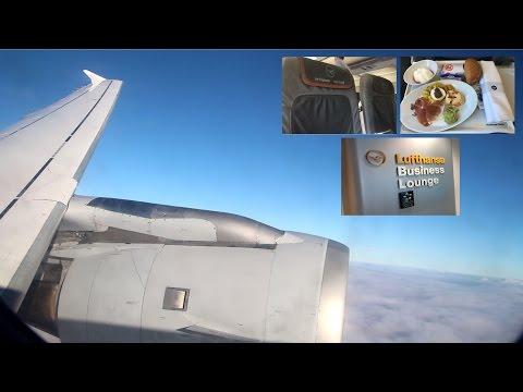 Dusseldorf - Frankfurt ✈ Lufthansa A320 Business Class [Tripreport]