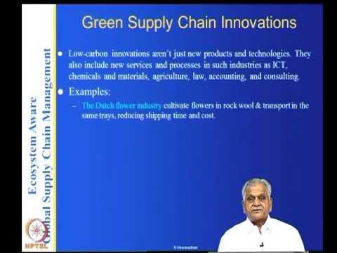 Mod-05 Lec-27 Green supply chain design-part2