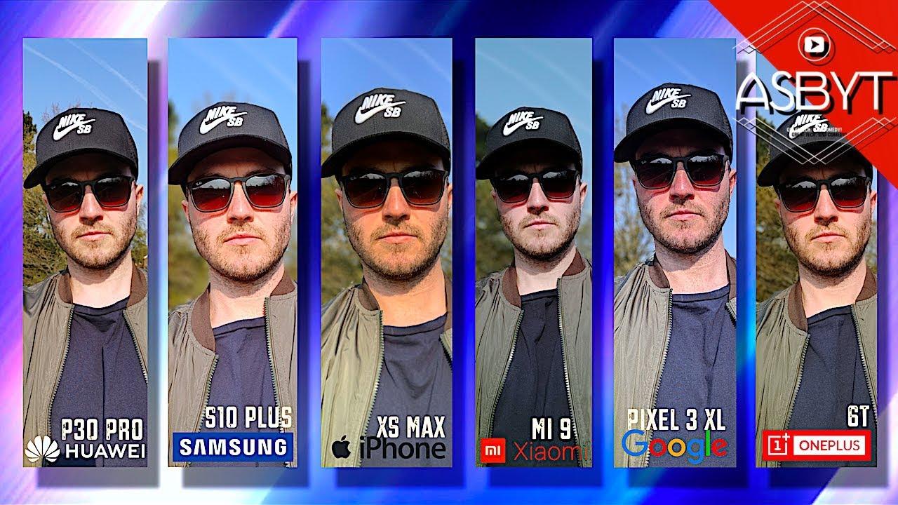 P30 Pro vs S10+ vs iPhone XS Max vs Mi 9 vs OnePlus 6T vs Pixel 3 XL - Camera Test Comparison Review