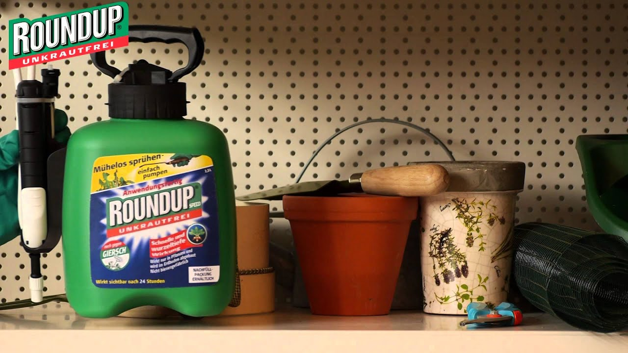 Roundup Speed 25 Liter Drucksprühgerät Youtube