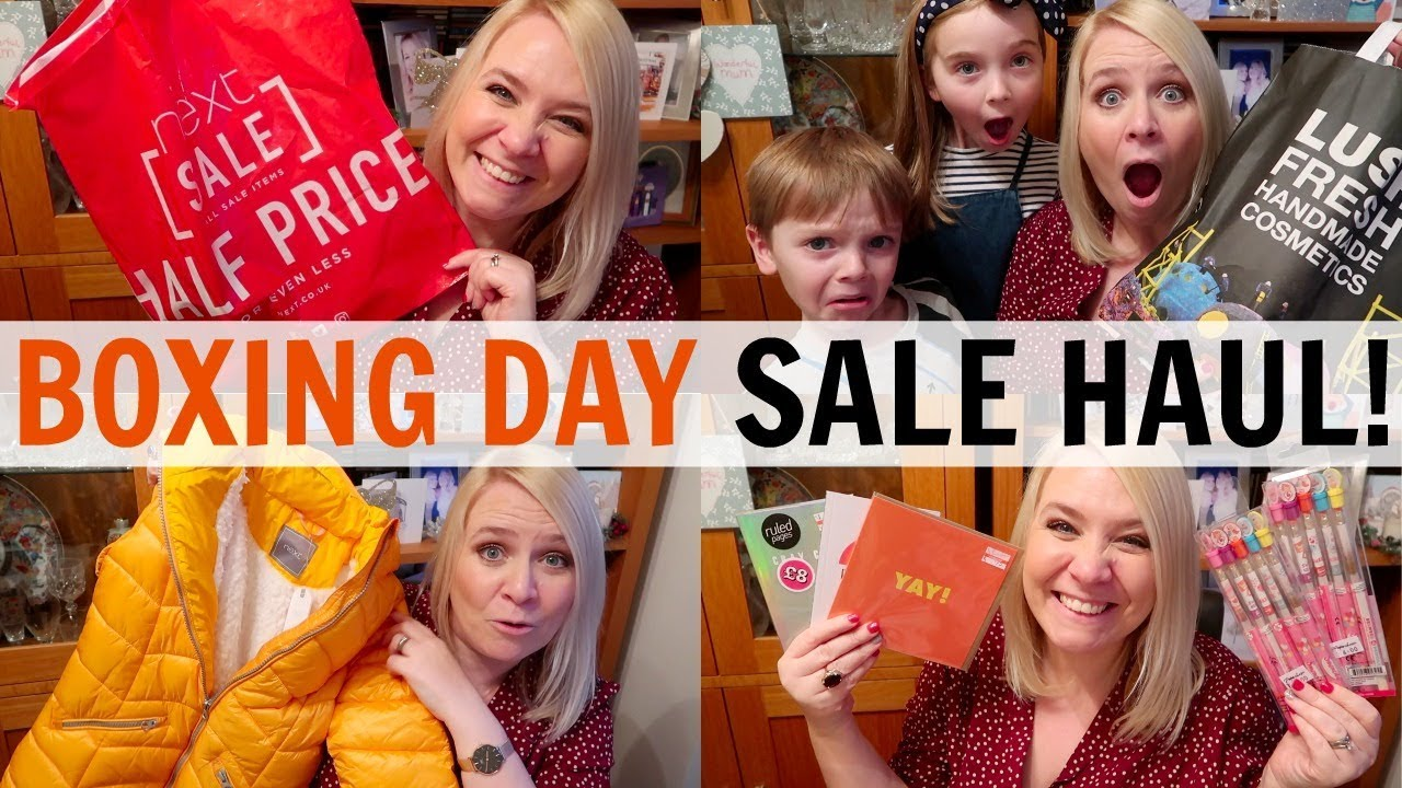 bd40bd61243 HUGE BOXING DAY SALE HAUL 2018! - YouTube