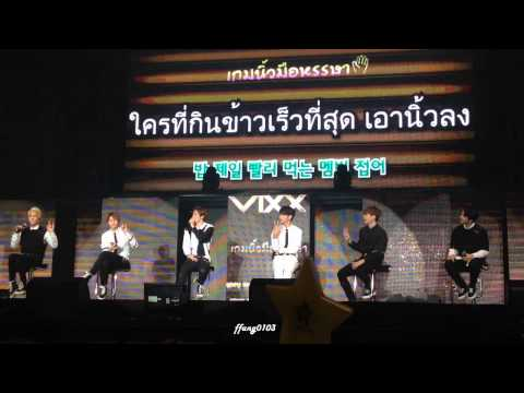 150104 VIXX (빅스) Playing Games (2) WYBMS2015 in Thailand