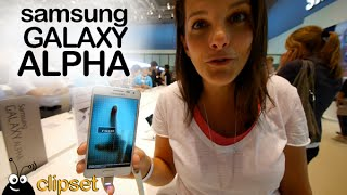 Samsung Galaxy Alpha preview IFA Videorama
