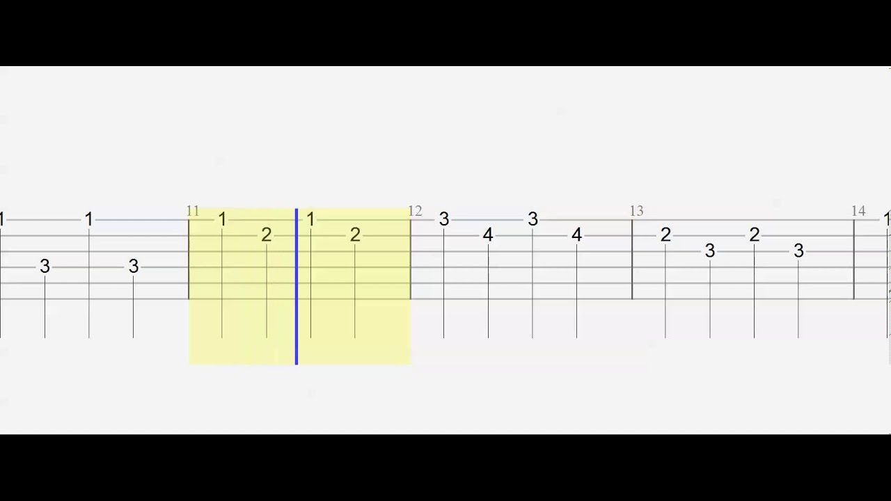 Guitar Tab - Nazi Zombies - Slow - Play Along - YouTube