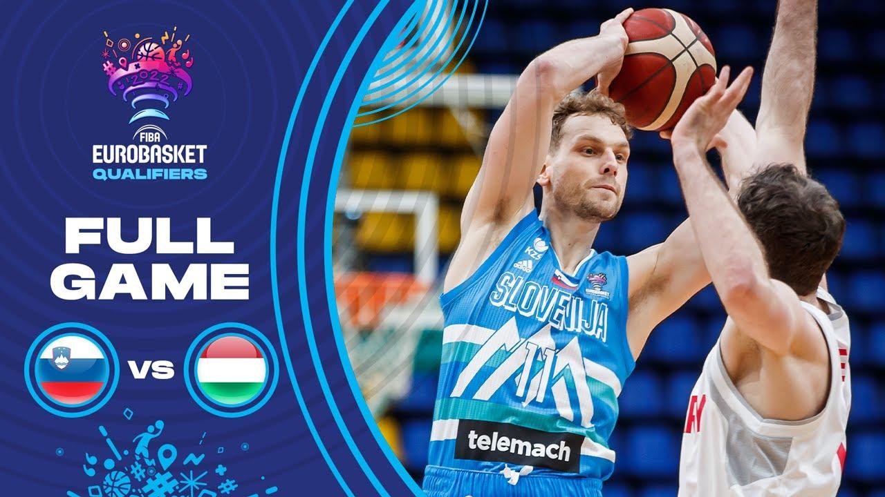 Slovenia v Hungary | Full Game