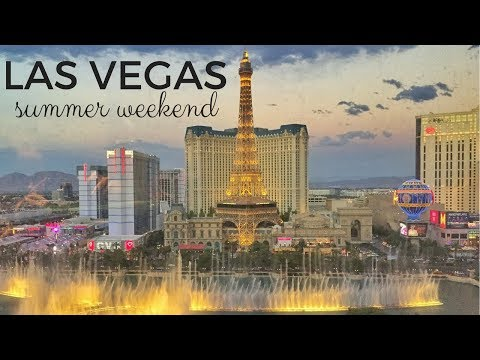 Las Vegas Summer Weekend -- The HOTTEST On Record!