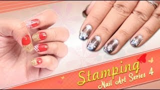 Stamping Nail Art Series 4 - Do it Yourself | KhoobSurati.com