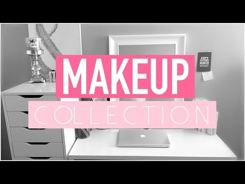 MAKEUP COLLECTION & VANITY TOUR 2016