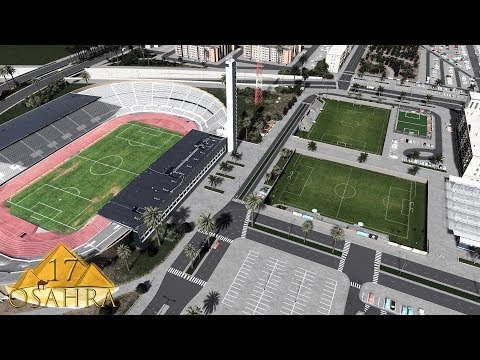 Cities Skylines: Osahra - The National Football Stadium #17