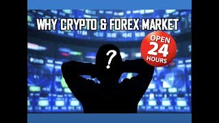 Why Cryptocurrency & Forex market open 24hr 365 days Non Stop I 4 important time in day trading