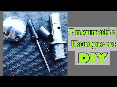 Pneumatic engraver: DIY